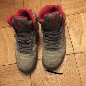 Jordan Shoes - Jordan Retro 5 camo